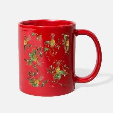 Pineapple green in Xmas time T Shirts - Full Color Mug