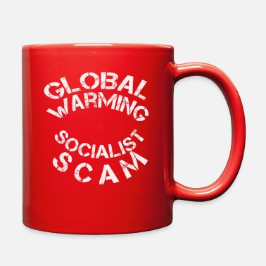 Socialist Global Warming Socialist Scram - Full Color Mug