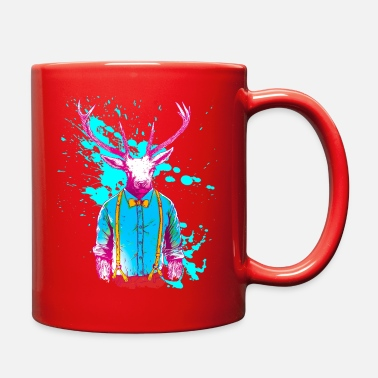 Neon colors deer animal hunter stylish - Full Color Mug