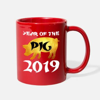 1947 2019 Year of The Pig - Full Color Mug