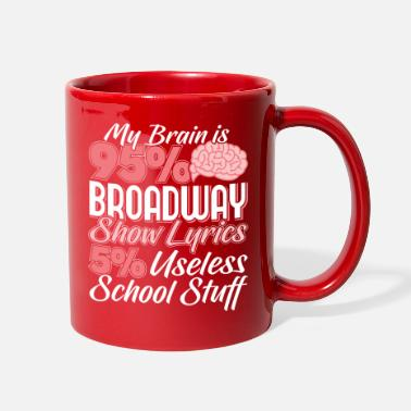 Musical Start of School Abi Abitur School Broadway Gift - Full Color Mug
