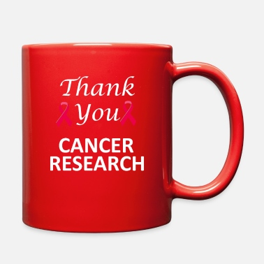 Cancer Research Thank You Cancer Research - Full Color Mug