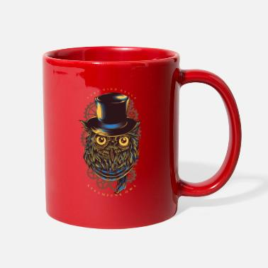 Cool Very high style Steampunk owl - Full Color Mug