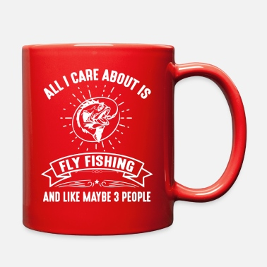 Carp All I care about is fishing. - Full Color Mug