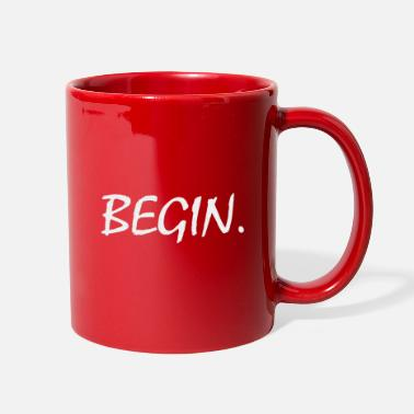 Cool Begin word Cool Design - Full Color Mug