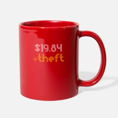 Theft Taxation Is Theft $19.84+Theft Retro Vintage - Full Color Mug
