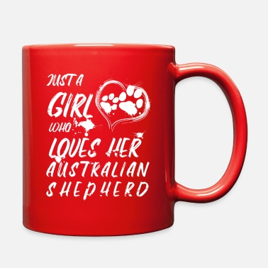 Australian Shepherd girls gift - Full Color Mug