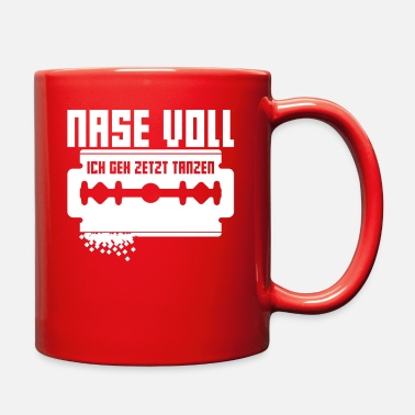Jumpstyle Coke Nose Full I Go Dancing Techno - Full Color Mug
