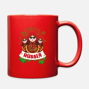 Yourself Nesting Doll Matrypshka Russia - Full Color Mug