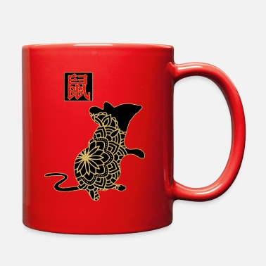 Zodiac Year of the Rat Chinese New Year - Full Color Mug