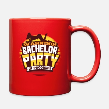Wedding Party Bachelor Party Wedding - Full Color Mug