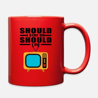 Television Television - Full Color Mug