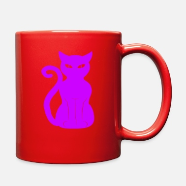 Fur Cute Cat Animal Pet Design - Full Color Mug