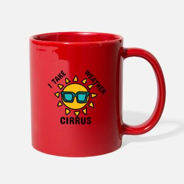 Cirrus I take weather cirrus - Full Color Mug