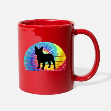 French Bulldog Tie Dye - Full Color Mug