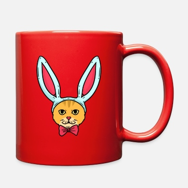 Headband Cat Bunny-headband - Full Color Mug