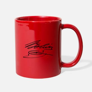 Simon Bolivar Simon Bolivar signature - Full Color Mug