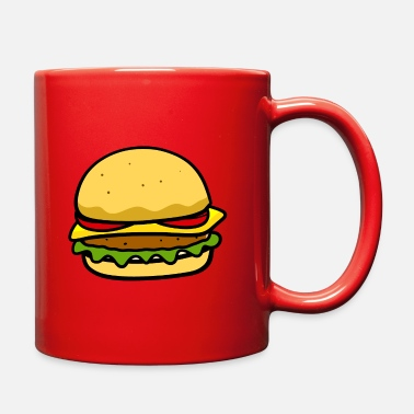 Beautiful Burger Burger - Full Color Mug