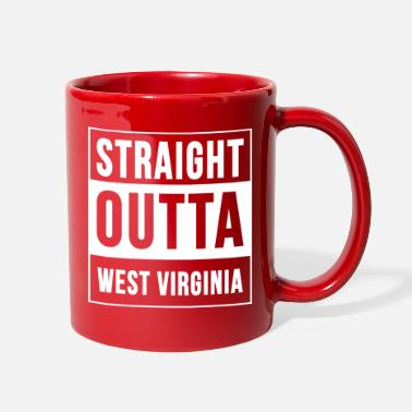 Straight Outta Straight Outta WEST VIRGINIA - Full Color Mug
