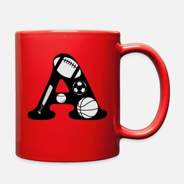 Initial initial A - Full Color Mug