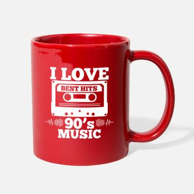 Cassette I Love 90s Music - Full Color Mug
