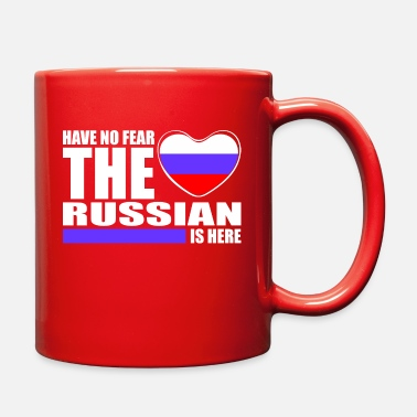 Russian Have No Fear The Russian Is Here - Full Color Mug