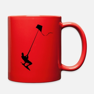 Kiteboard kiteboarder - Full Color Mug
