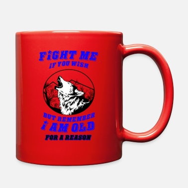 Wolf Pack Wolf - The strength of the pack is the wolf - Full Color Mug