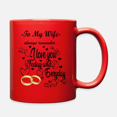 Today Wife gift -To my wife - Full Color Mug