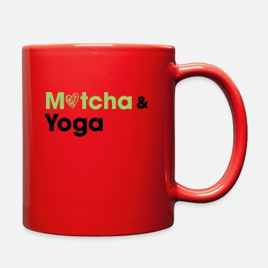 Matcha Matcha & Yoga T-shirt - Full Color Mug