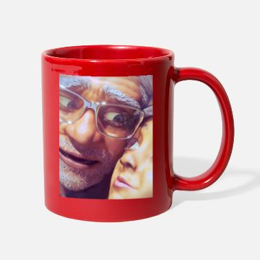 Grandchild Grandfather and Grandchild - Full Color Mug