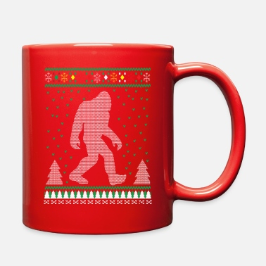 Sasquatch Sasquatch Ugly Christmas Sweater - Full Color Mug