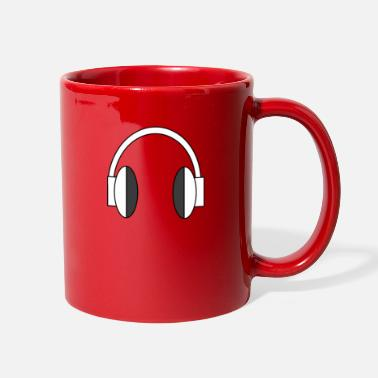 Headphones headphones - Full Color Mug