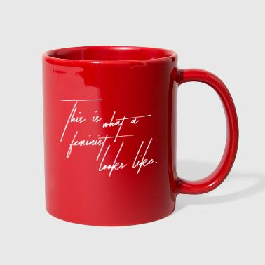This is a feminist - Full Color Mug