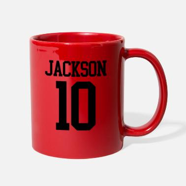 Jersey Number Jackson Jersey Number (black) - Full Color Mug