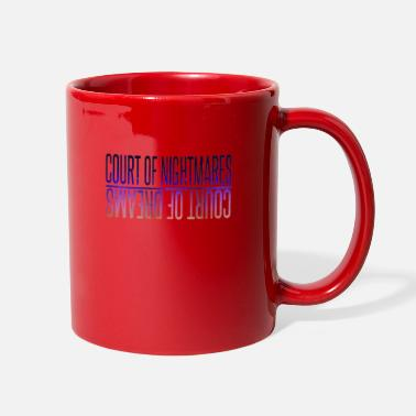 Court court of nightmares - Full Color Mug