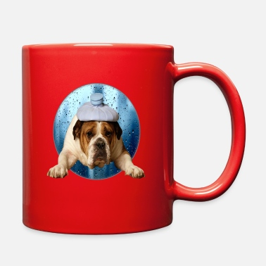 Hipster Sad Doggie - Full Color Mug