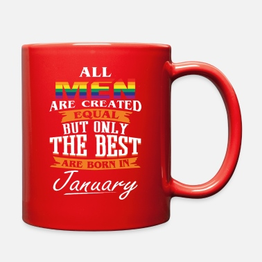 The Best Are Born In January - Full Color Mug