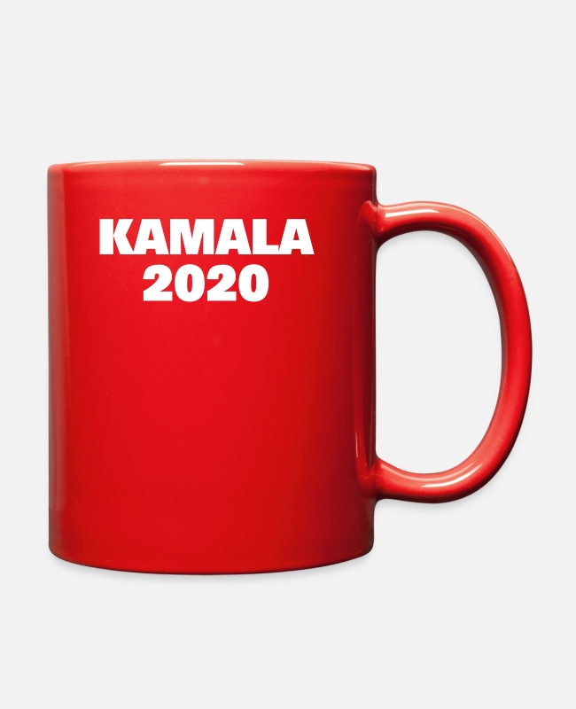 Elections Mugs & Cups - Kamala 2020 Election Campaign Supporter - Full Color Mug red