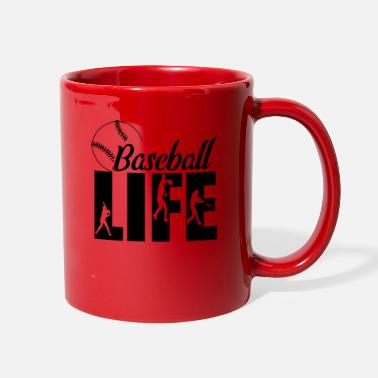 Baseball life - Full Color Mug