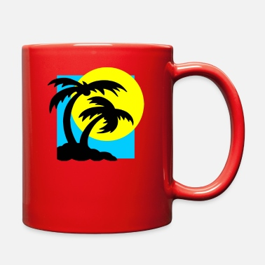 Atmosphere Beach atmosphere in the morning - Full Color Mug