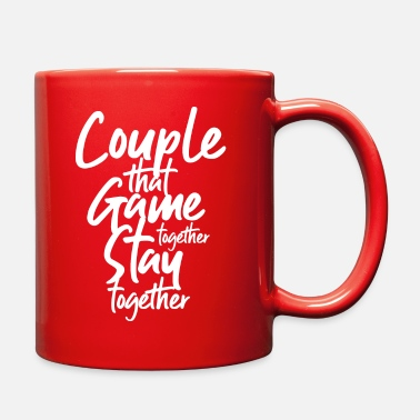 Lovely couple game - Full Color Mug