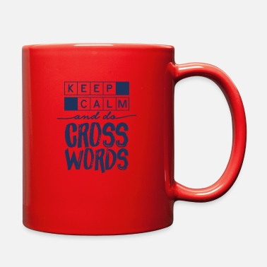 Crossword Crossword Crossword Crossword Crossword - Full Color Mug