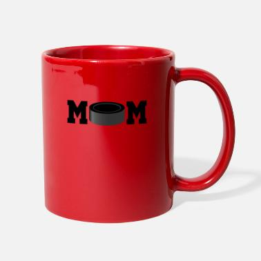 Stick Hockey mom puck - Full Color Mug