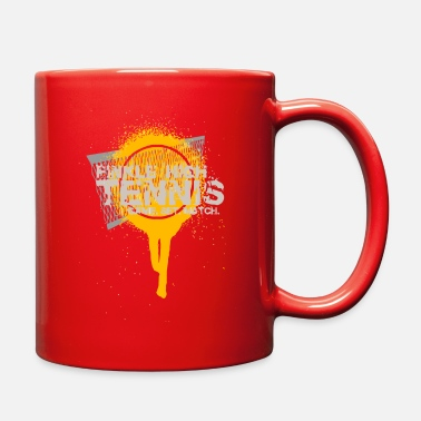 Tennis FINKLE HIGH TENNIS GAME SET MATCH - Full Color Mug