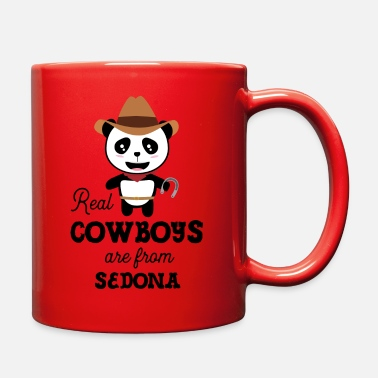 Western Real Cowboys are from Sedona Gift - Full Color Mug