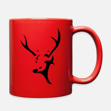 Deer Head deer head - Full Color Mug