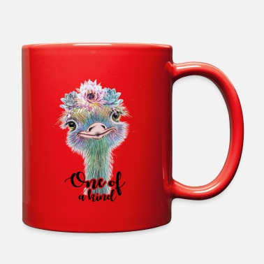 One Of A Kind One Of A Kind Ostrich - Full Color Mug