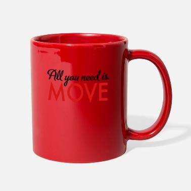 Move move - Full Color Mug