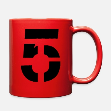 Five FIVE - Full Color Mug